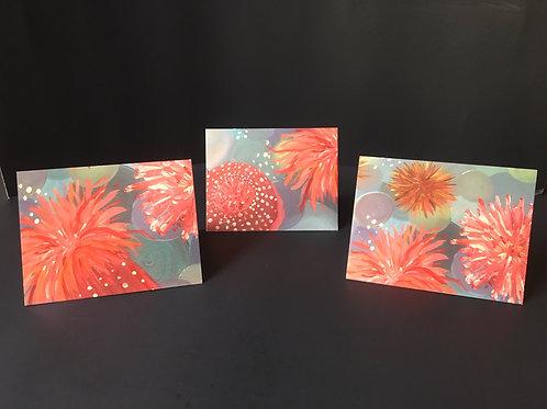 Sea Anemone Notecards