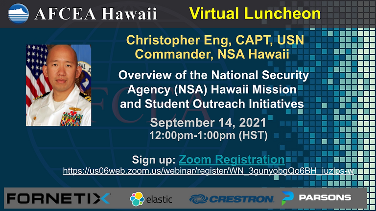 Overview of the National Security Agency (NSA) Hawaii Mission  and Student Outreach Initiatives