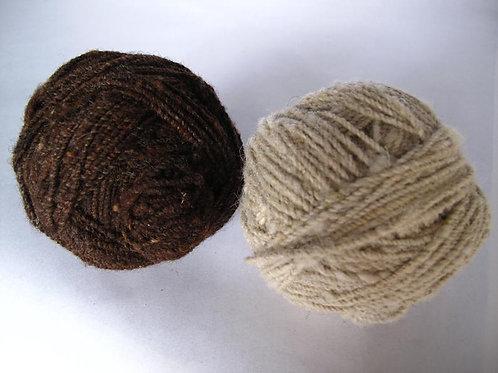 Handspun Yarn Sheep's Wool 200g