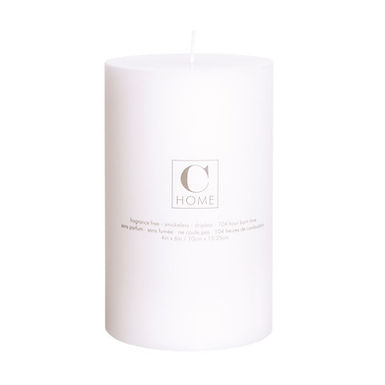 4'' x 6'' White Candle