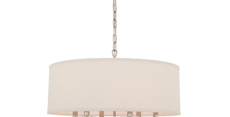 Paxton Chandelier Polished Nickel