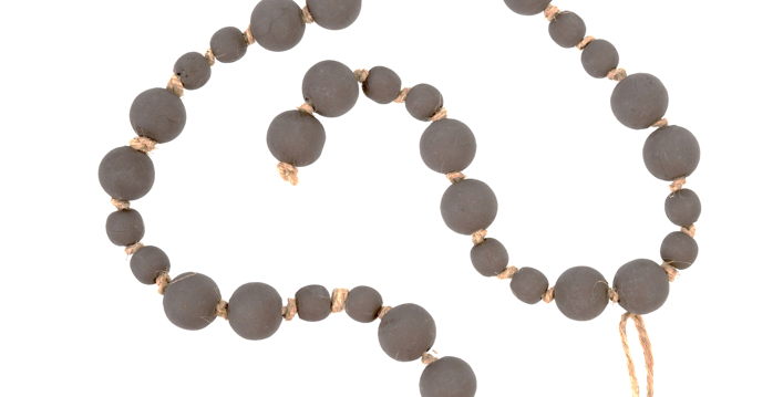 Wooden Beads Mauve