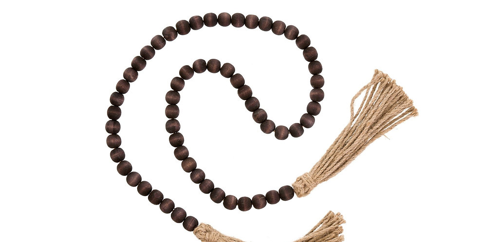 Tassel Beads Brown