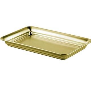 Vanity Organizer in Brass