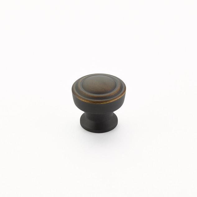 Menlo Round Knob Ancient Bronze