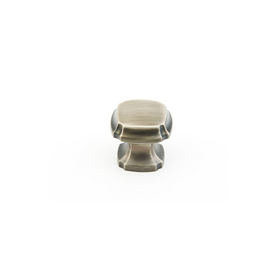Empire Square Knob Antique Nickel