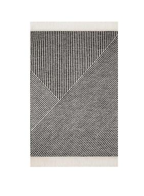 Newton Rug Charcoal / Ivory