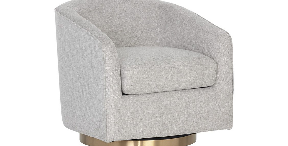 Hazel Swivel Chair Heather