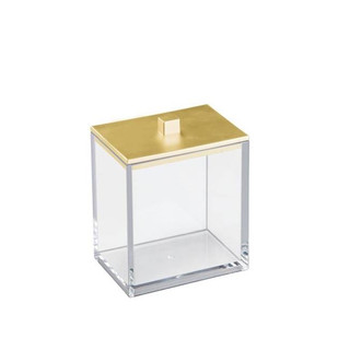 Clarity Canister in Brass