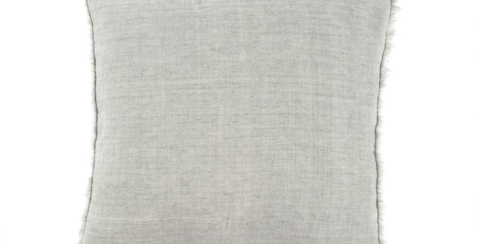 24x24 Linen Cushion Light Gray