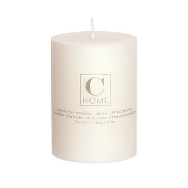3'' x 4'' Ivory Candle