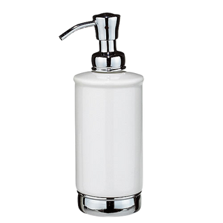 York Large Soap Pump in Chrome