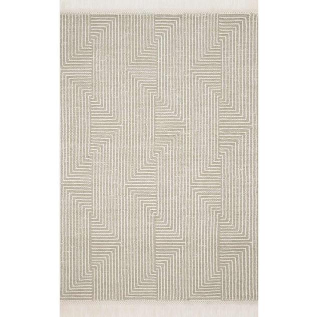 Newton Rug Sage / Ivory