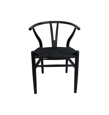Wishbone Chair Black
