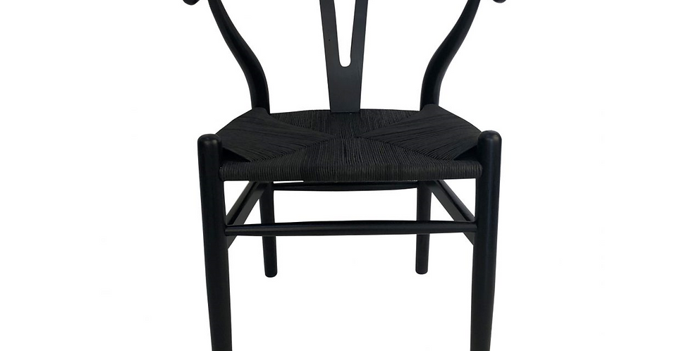 Wishbone Chair Black