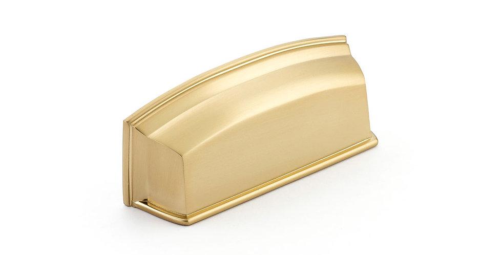 Menlo Cup Pull Satin Brass
