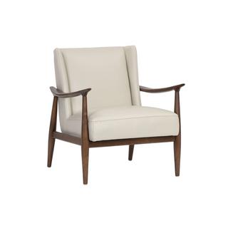 Azella Chair Stone Leather