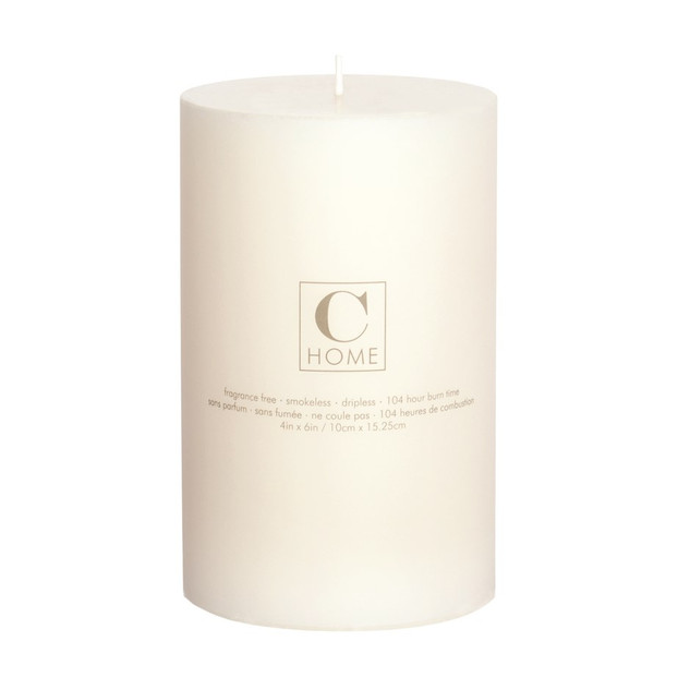 4'' x 6'' Ivory Candle