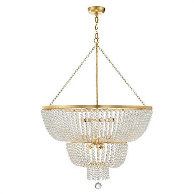 Rylee 12 Lights Chandelier Gold
