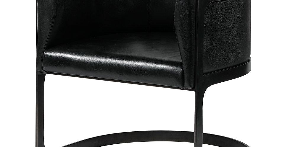 Frazier Black Chair