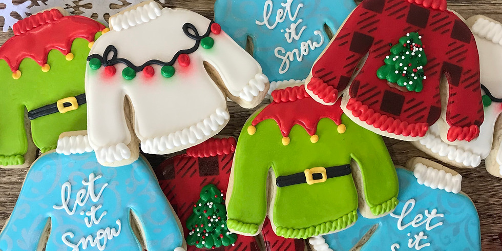 *Sold Out* December 11 Cookie Decorating Class - Ugly Sweater