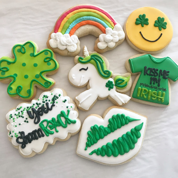 *Sold Out* March 11 Cookie Decorating Class - St. Patrick's Day