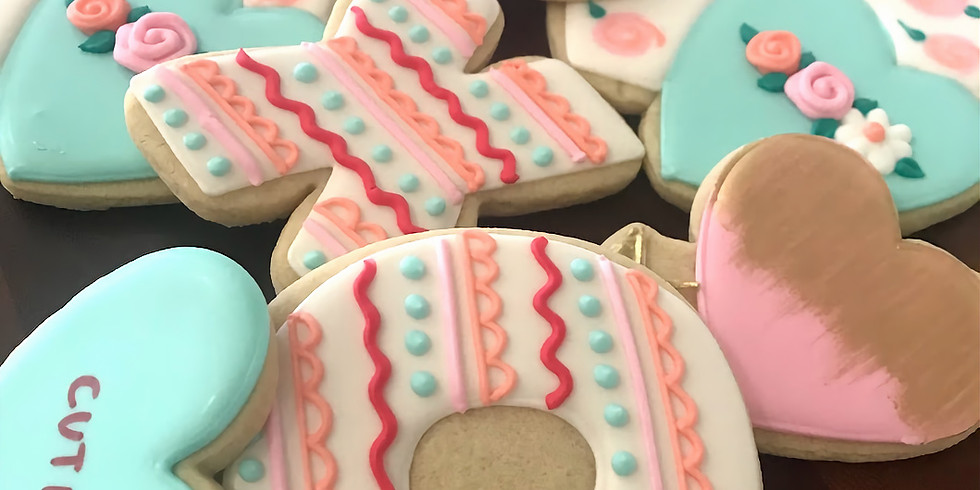 *Sold Out* February 12 Cookie Decorating Class - Valentine's Day