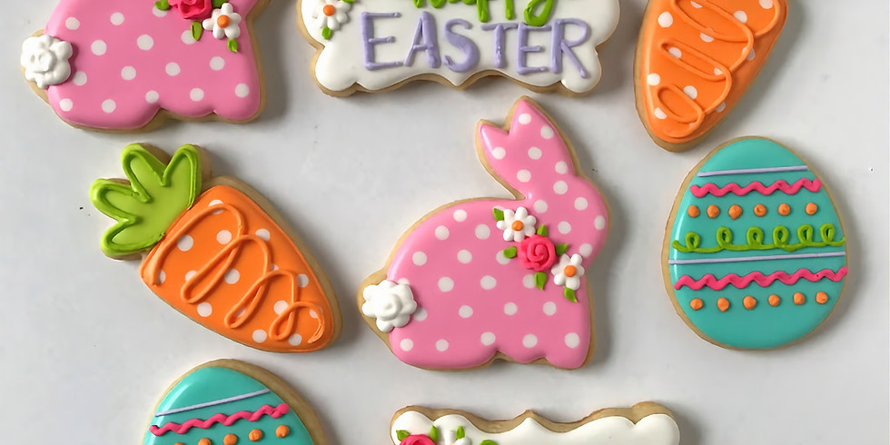 April 8 Virtual Cookie Decorating Class - Easter