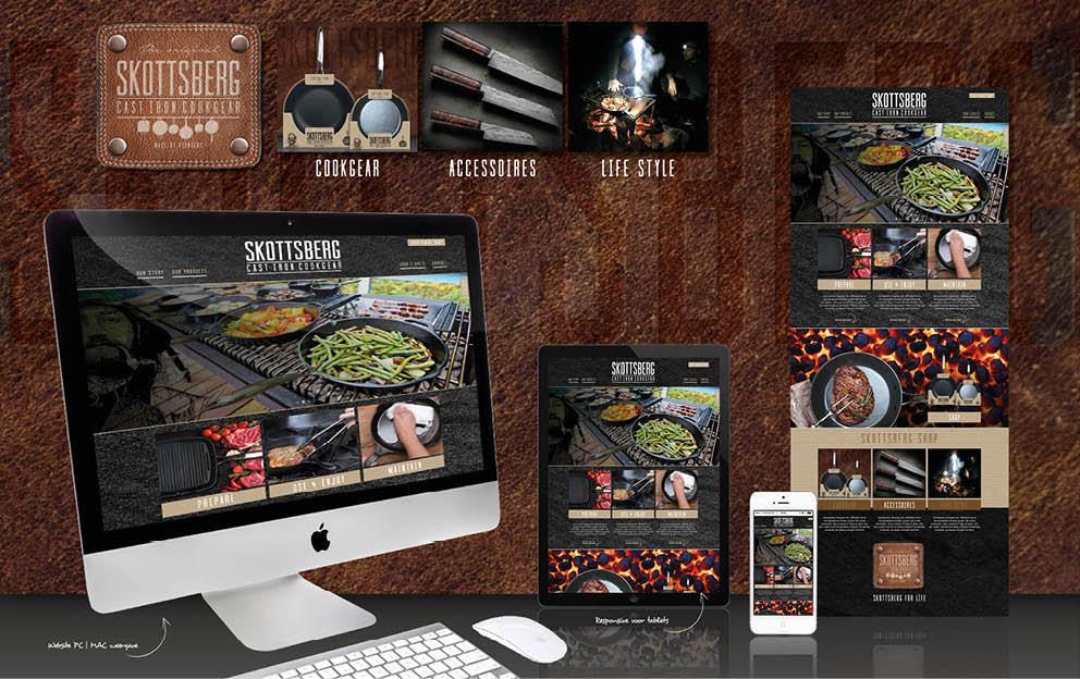Websiteconcept SKOTTSBERG