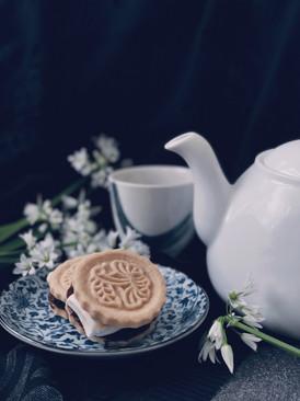 Chocolate lavender Smores