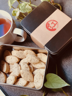 Earl grey irish cream cookies
