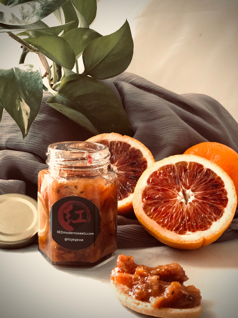 Bloody Earl (Blood orange & earl grey preserves)