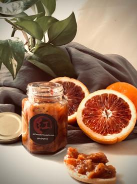 Bloody Earl (Blood orange & earl grey preserves)