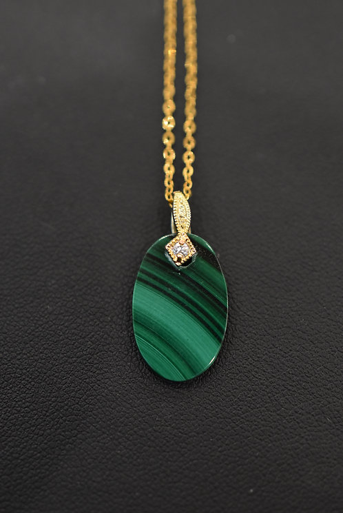 Diva Malachite necklace