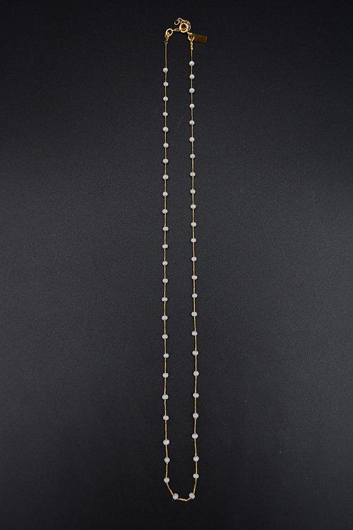 Collier Preciosa Spinelle blanche