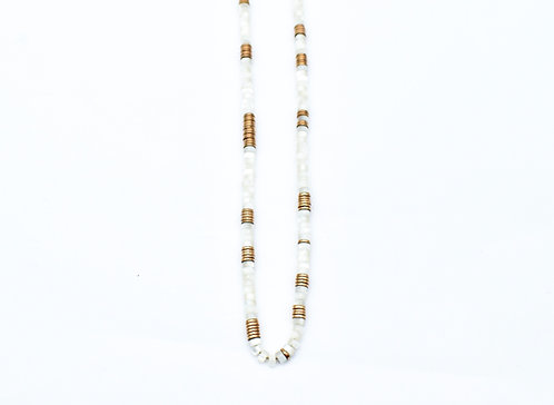 Mother of pearl Eve necklace