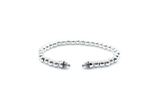 Bracelet Perles Argent pour Capsule