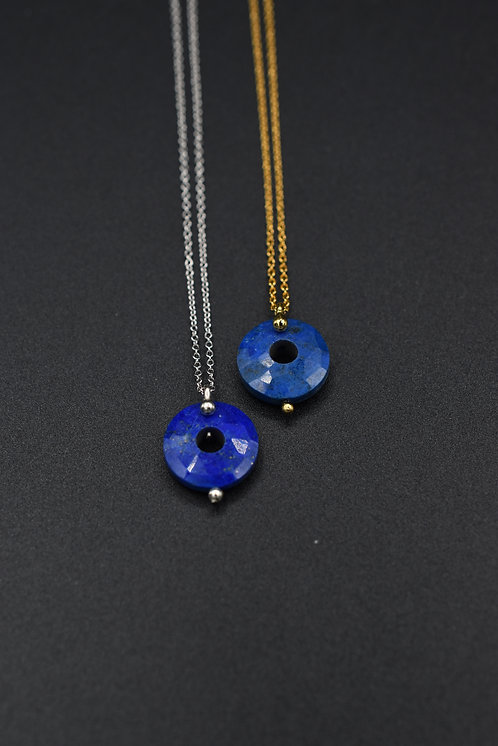 Collier Donuts Lapis Lazuli