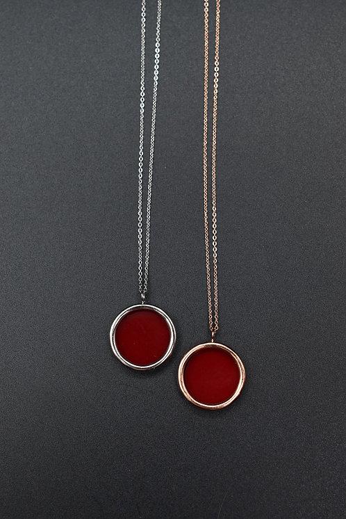 Collier Volta Corail rouge
