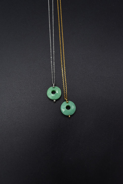 Collier Donuts Jade