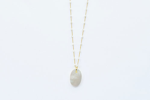 Diva + Preciosa Mother of Pearl Necklace