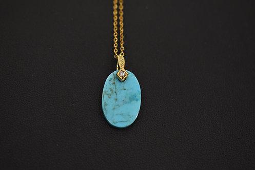 Collier Diva Arizona Turquoise