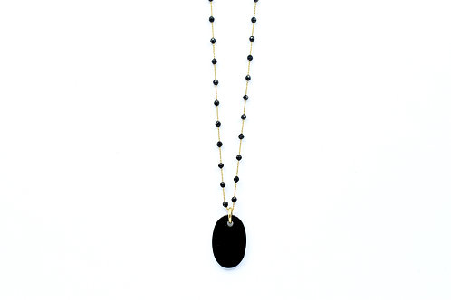 Diva + Preciosa Onyx Necklace