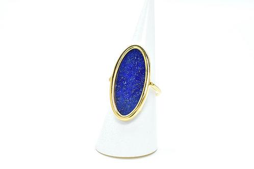 Bague Alongada Lapis Lazuli