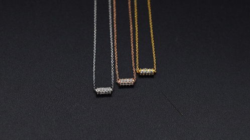 Collier Cylindre Oxyde