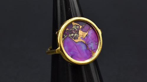 Bague Volta Turquoise violette