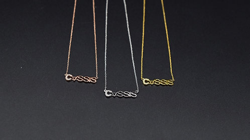 Cassis necklace
