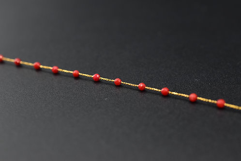 Bracelet Preciosa Corail rouge