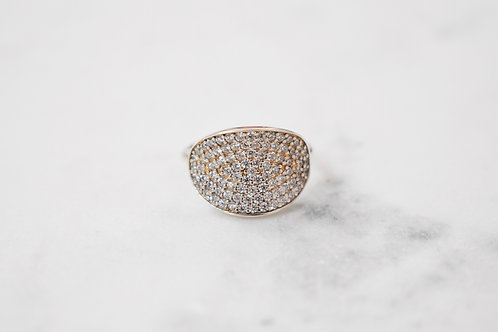 Oval Oval Ring