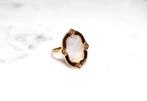 Antigo Mother of Pearl Ring